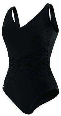Speedo Plus Size Side Shirred One-Piece Swimsuit