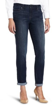 Calvin Klein Jeans Women's Decadent Blue Denim Boyfriend Jean