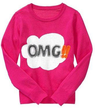 Gap Sequin graphic sweater