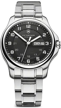 Swiss Army Victorinox 'Officer's' Automatic Bracelet Watch