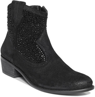 INC International Concepts Women's Cayne 2 Western Booties