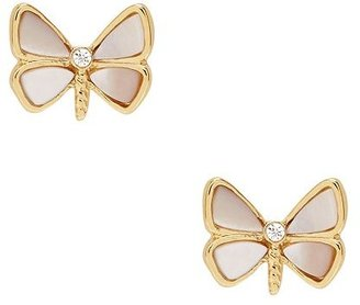Kate Spade Papillon pearls studs