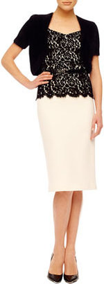 Michael Kors Short-Sleeve Shrug