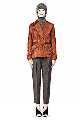 Alexander Wang Cross Front Hair Calf Jacket