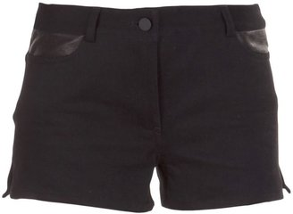 Alexander Wang panelled denim shorts