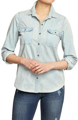 Old Navy Women's Denim Shirts