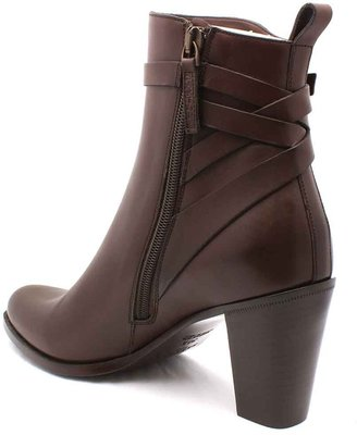 "Sartore SR2245"" Brown Leather Ankle Boot"