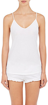 Skin Women's Jersey V-Neck Camisole-WHITE $55 thestylecure.com