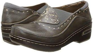 L'Artiste by Spring Step Burbank (Black) Women's Clog Shoes