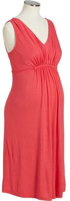 Old Navy Maternity Gathered-Front Jersey Dresses