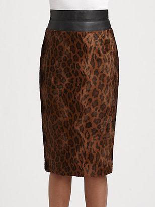 Lafayette 148 New York High-Waist Nanine Skirt