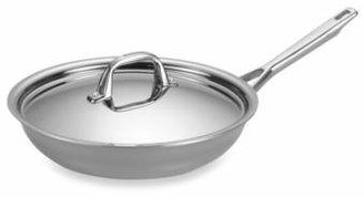 Anolon Tri-Ply Clad Stainless Steel 12.75-Inch Covered Skillet