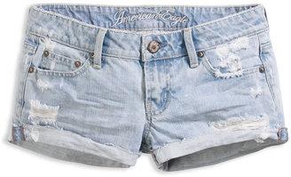 American Eagle AE Destroyed Cutoff Denim Shorts