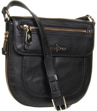 Cole Haan Linley Canteen Crossbody (Black) - Bags and Luggage