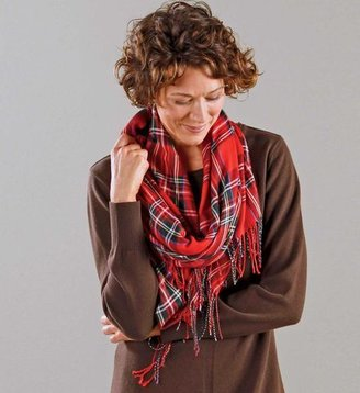 Gaiam Blanket-Fringe Bamboo Wrap