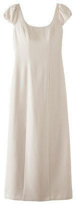 TEVOLIOTM Women's Soft Satin Cap Sleeve Bridal Gown - Assorted Colors