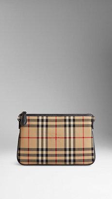 Burberry Horseferry Check Clutch Bag