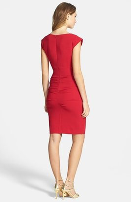 Nicole Miller Crepe Sheath Dress