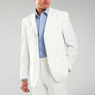 JCPenney Stafford® Essentials White Suit Jacket
