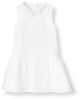 Janie and Jack Circle Embroidered Voile Dress