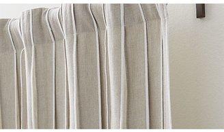 Crate & Barrel Kendal Natural Curtains