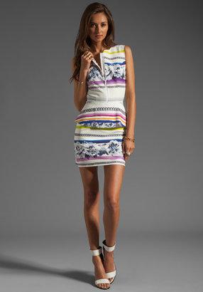 Camilla And Marc Juniper Printed Silk Cotton Dress