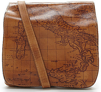 Patricia Nash Signature Map Collection Granada Cross-Body Bag $129 thestylecure.com