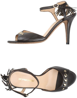 Borbonese High-heeled sandals