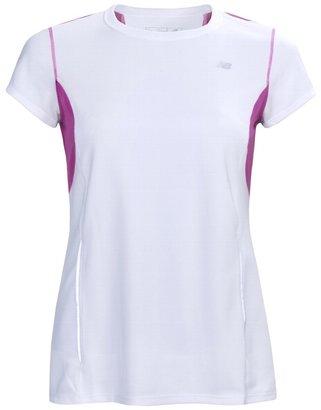 New Balance Color-Block Tempo Shirt - UPF 20+, Short Sleeve (For Women)