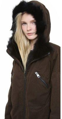Giambattista Valli Reversible Fur Coat