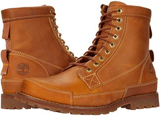 Timberland Earthkeepers(r) Rugged Original Leather 6 Boot (Wheat Lite Leather Full Grain) Men's Lace-up Boots