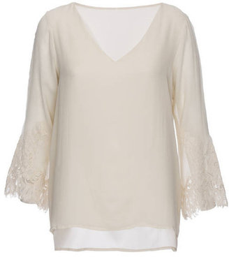 Gold Hawk Biance Double Layer Top