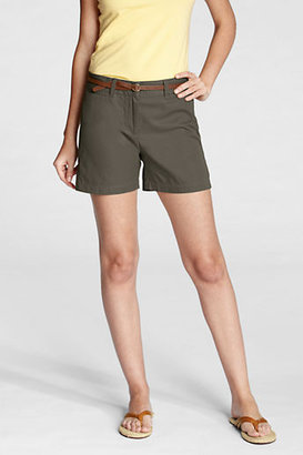 Lands' End Women's Regular Fit 2 5 Shorts