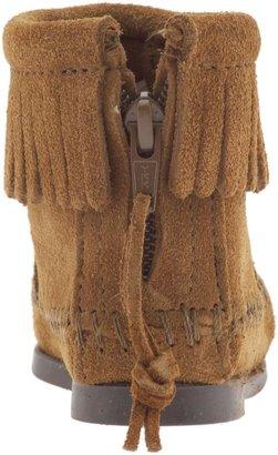 Minnetonka Moccasin Back Zipper Boot (Infant/Toddler/Youth)