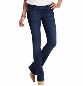 LOFT Petite Modern Sexy Boot Jeans in Winded Blue Wash