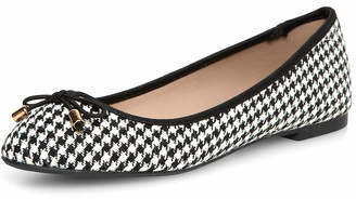 Dorothy Perkins Black white dogtooth pumps