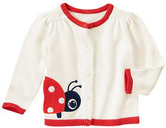 Gymboree Ladybug Sweater Cardigan