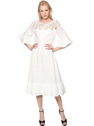 Cotton Crochet & San Gallo Lace Dress