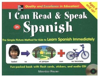 I Can Read & Speak in Spanish (Book+CD)