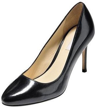 Cole Haan Bethany Almond-Toe Leather Pump, Black $248 thestylecure.com