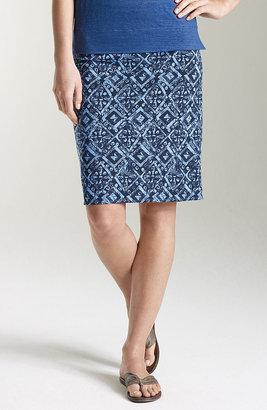 J. Jill Printed knit skirt