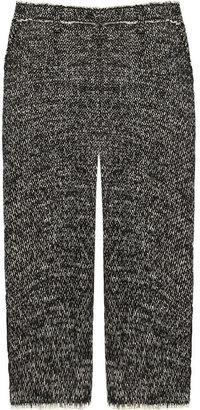 Dolce & Gabbana High-waisted tweed shorts