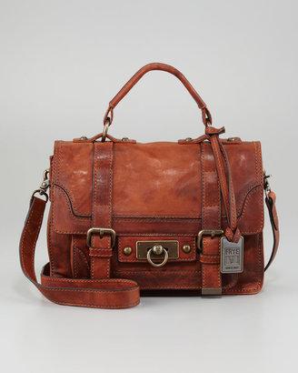 Frye Cameron Small Satchel Bag, Cognac