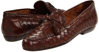 Sesto Meucci Neda (Dk Tan Stained Calf) Women's Slip on Shoes