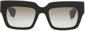 Prada Poem Catwalk Square Sunglasses