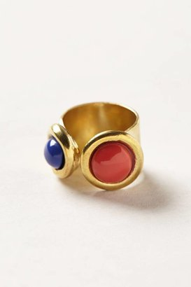 Anthropologie Vintage Cabochon Ring