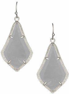Kendra Scott Alex Rose Quartz Earrings