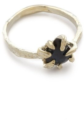 Lauren wolf jewelry Sapphire Claw Ring