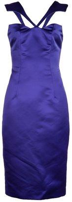 Cushnie et Ochs Satin silk dress