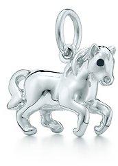Paloma Picasso Paloma's Chinese Zodiac horse charm